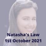 Natasha's Law October 2021